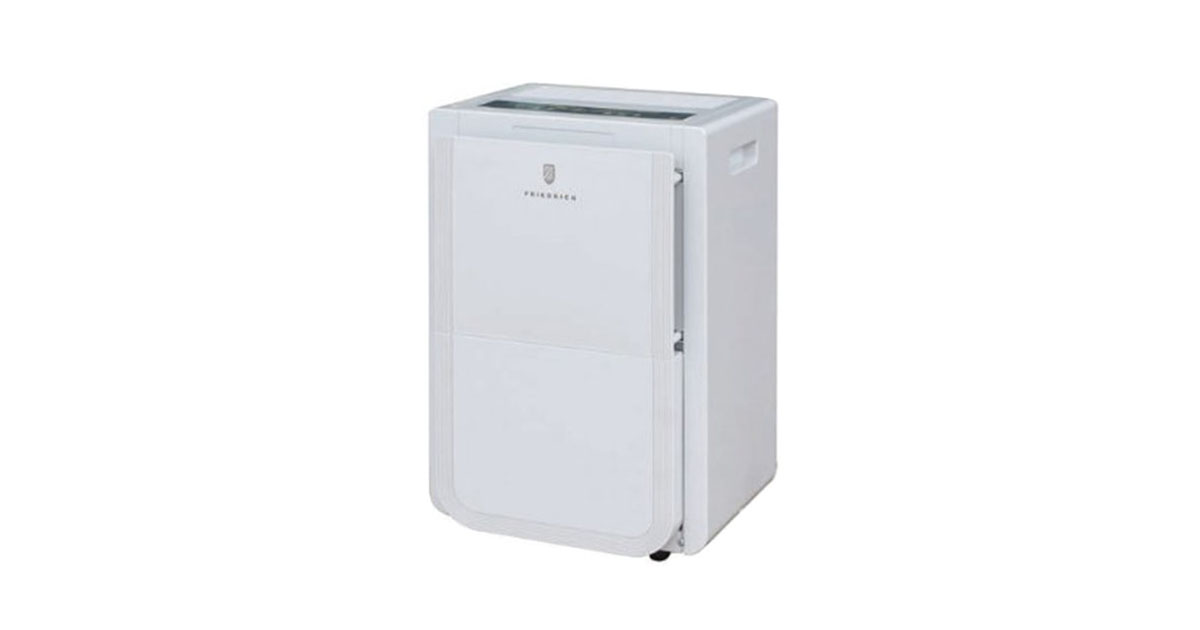 Friedrich 50 Pint Dehumidifier with Built-In Drain Pump D50BPA