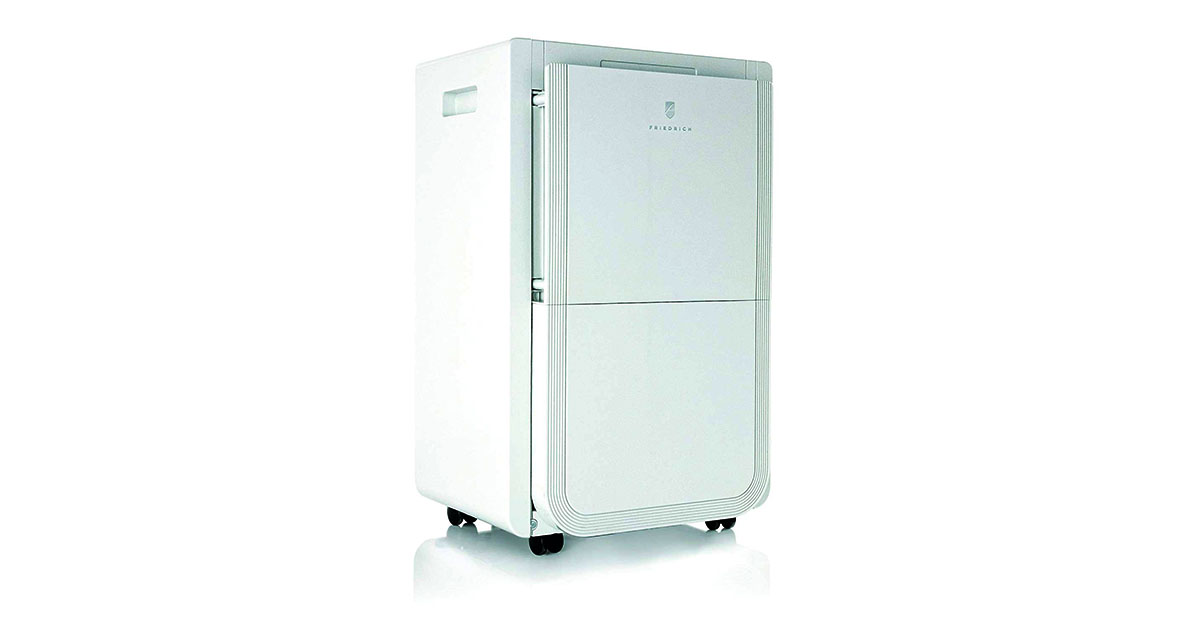 Friedrich 70 Pint Dehumidifier with Built-In Drain Pump D70BPA image