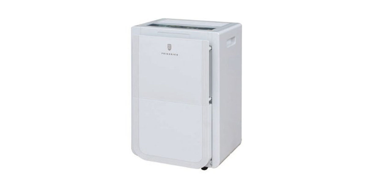 Friedrich D70BP 70 Pint Dehumidifier with built-in drain pump Front Bucket and Continuous Drain image
