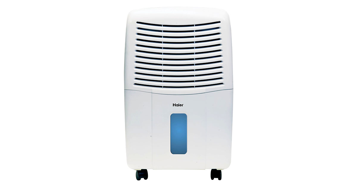 Haier Energy Star 50 Pt Dehumidifier with Smart Dry HEH50ET image