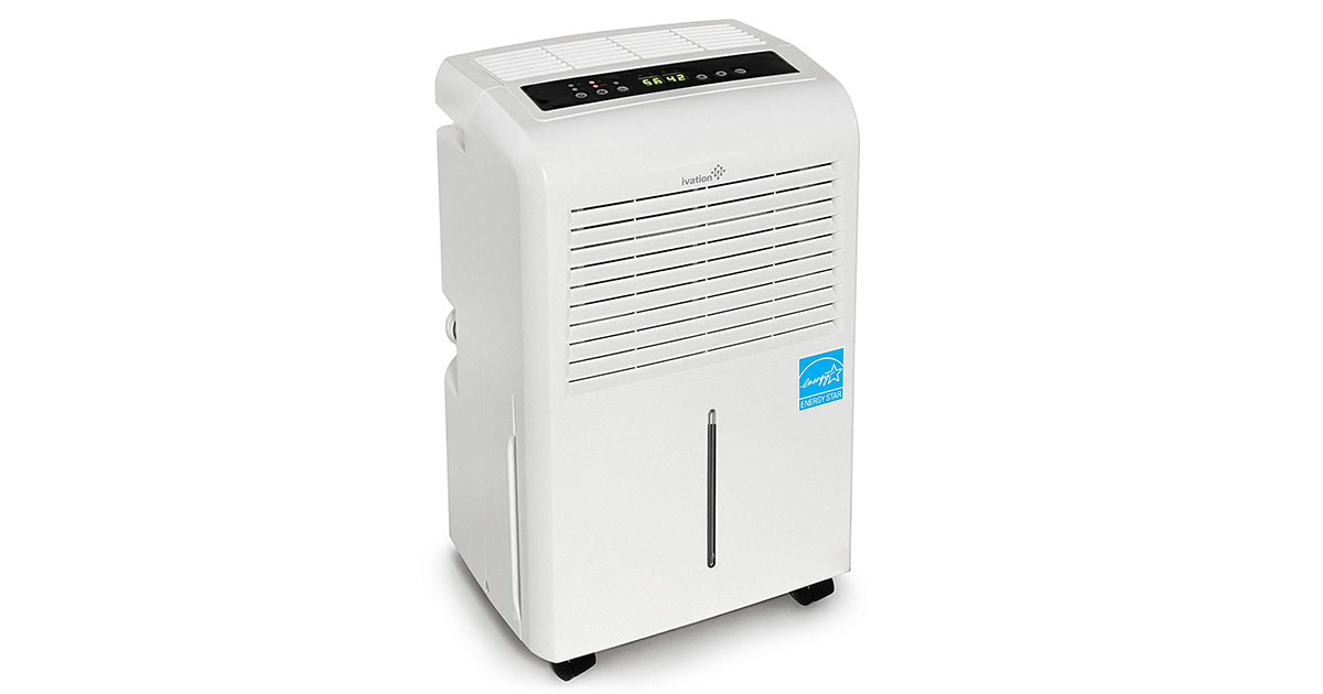 Ivation 30 Pint Energy Star Dehumidifier image