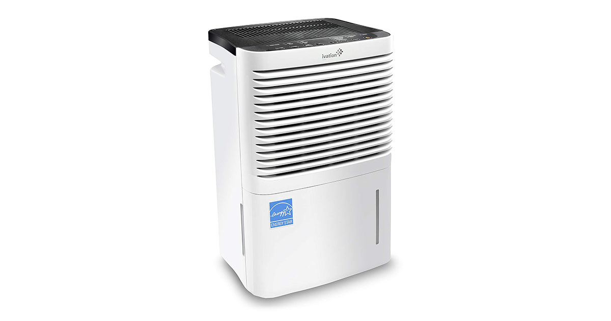 Ivation 70 Pint Energy Star Compressor Dehumidifier with Pump Large Capacity for Spaces Up To 4500 Sq Ft image