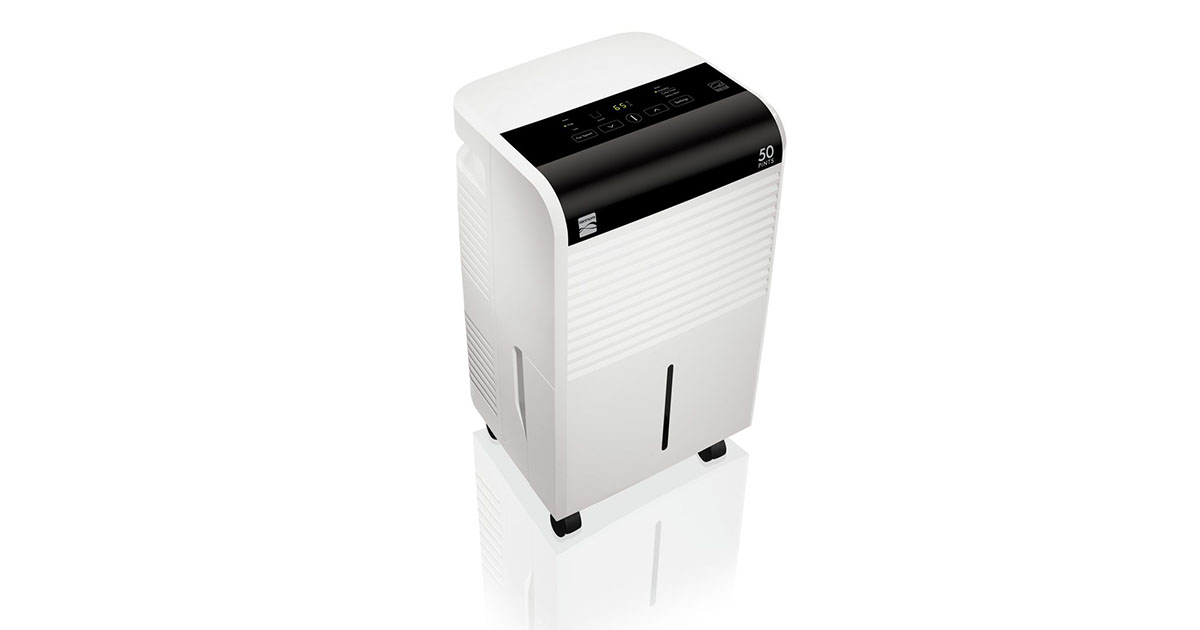 Kenmore 55550 Dehumidifier Energy Star 50 Pint in White image