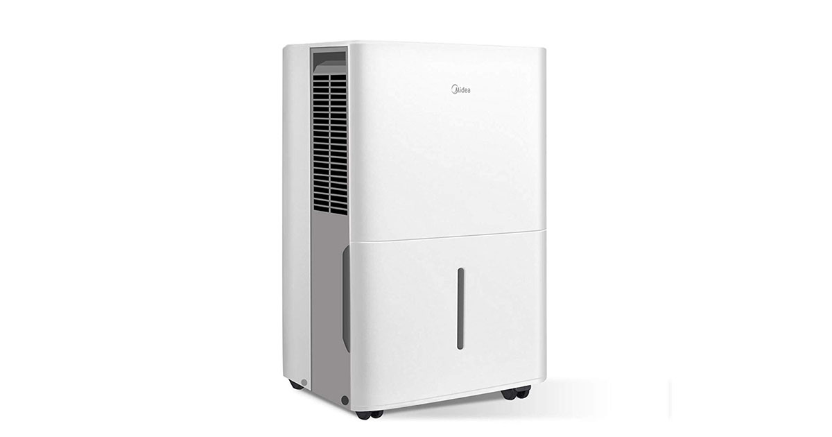 MIDEA MAD30C1YWS Portable Dehumidifier 30 Pint image