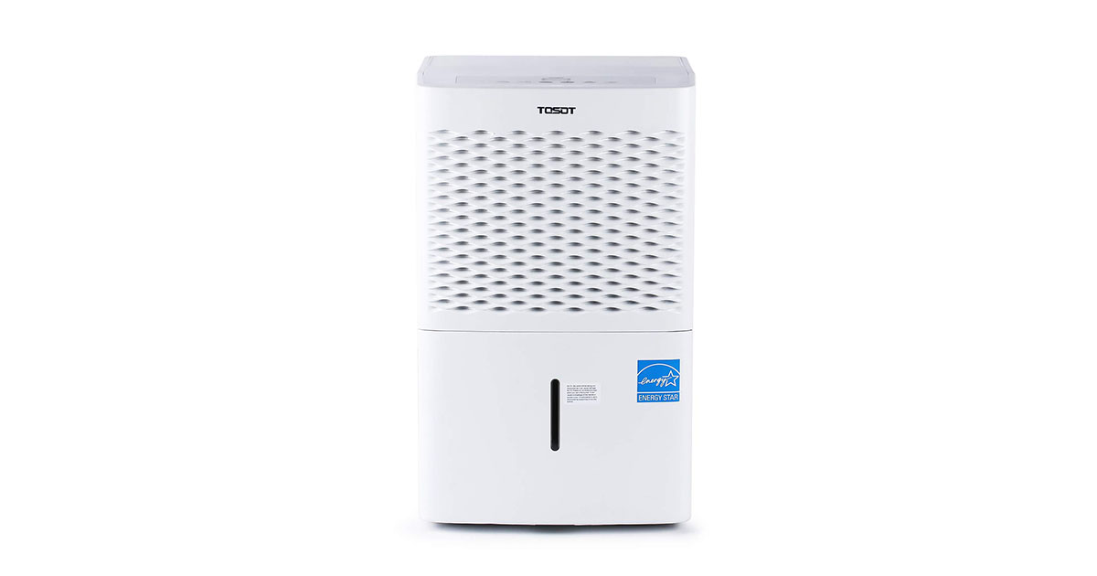 TOSOT 30 Pint Dehumidifier for Small Rooms up to 1500 Square Feet image