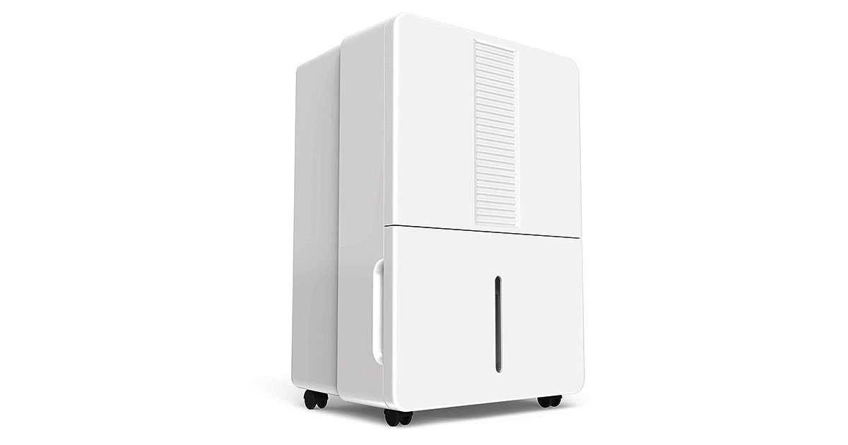 hOmeLabs 70 Pint Dehumidifier Featuring Intelligent Humidity Control image