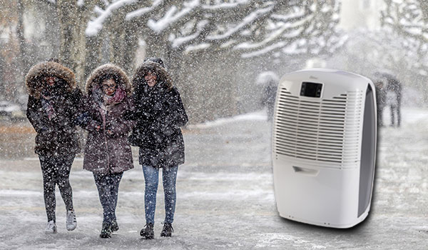 How to use a dehumidifier in winter image