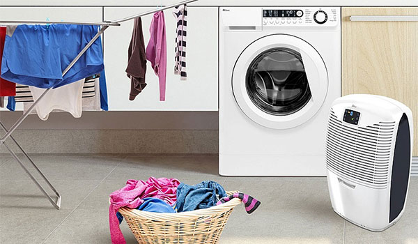 Using a Dehumidifier to Dry Clothes & Washing image