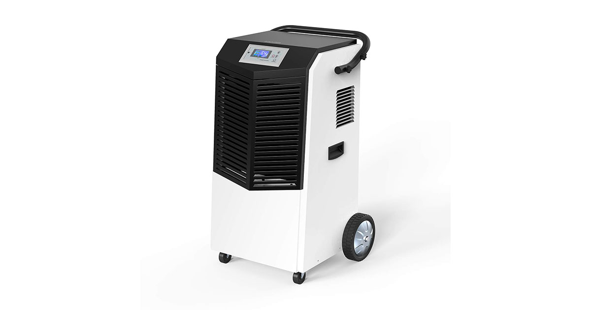 Inofia Dehumidifier 232 Pints 29 Gallons Large Capacity Compressor Basement Industrial Commercial Dehumidifier image