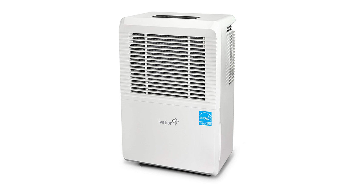 Ivation 70 Pint Energy Star Dehumidifier Large Capacity For Spaces Up To 4500 Sq Ft image