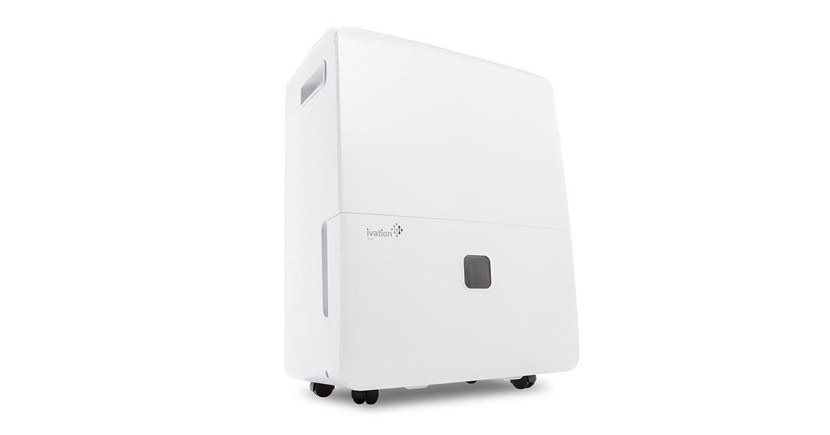Ivation 95 Pint Energy Star Dehumidifier for Spaces Up to 6000 Sq Ft image