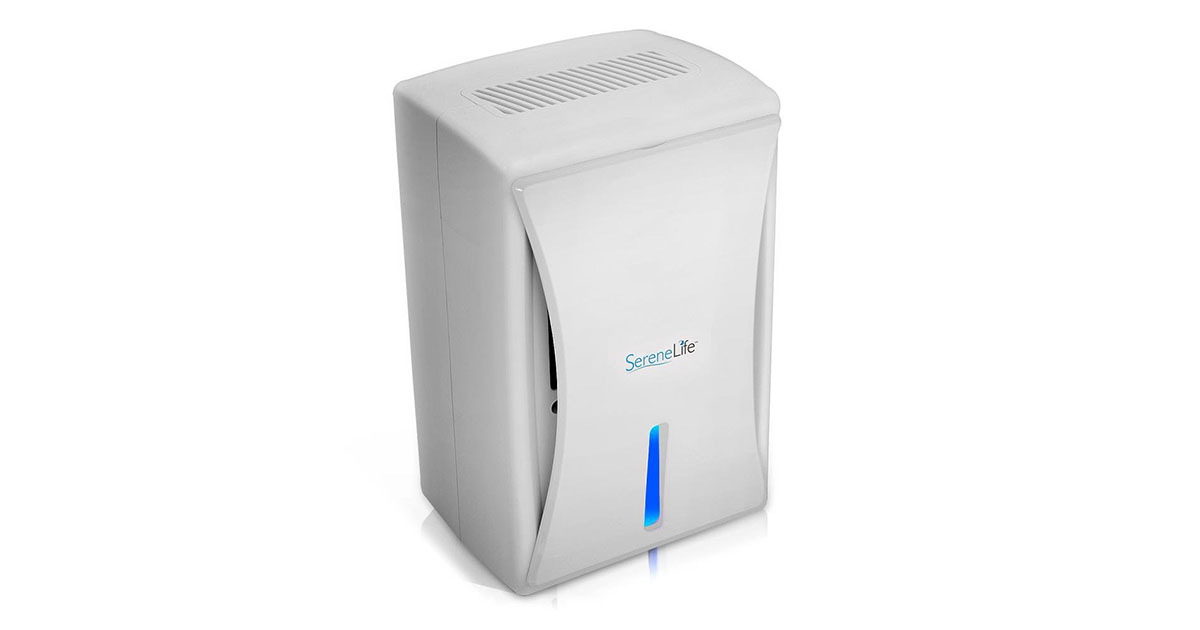 SereneLife Upgraded Electronic Air Dehumidifier PDUMID35 image