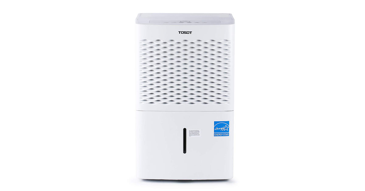 TOSOT 70-Pint Dehumidifier with Pump for Large Rooms up to 4500 Square Feet - Energy Star and Continuous Drain Hose Outlet image