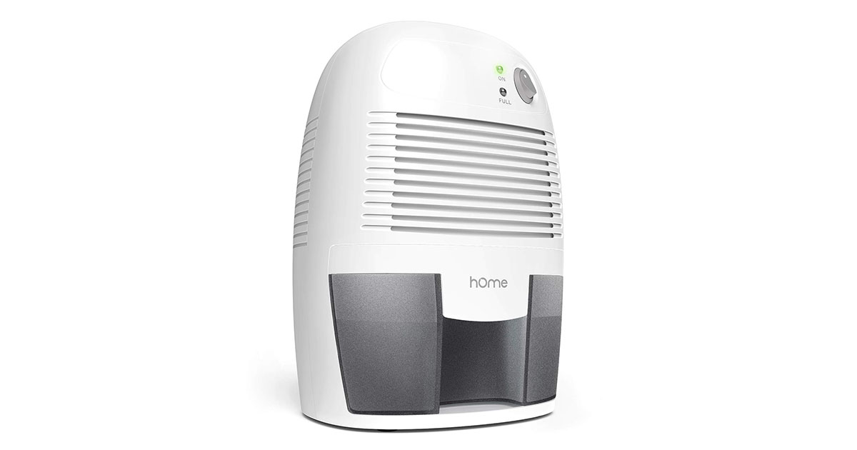 hOmeLabs Small Space Dehumidifier with Auto Shut-Off image
