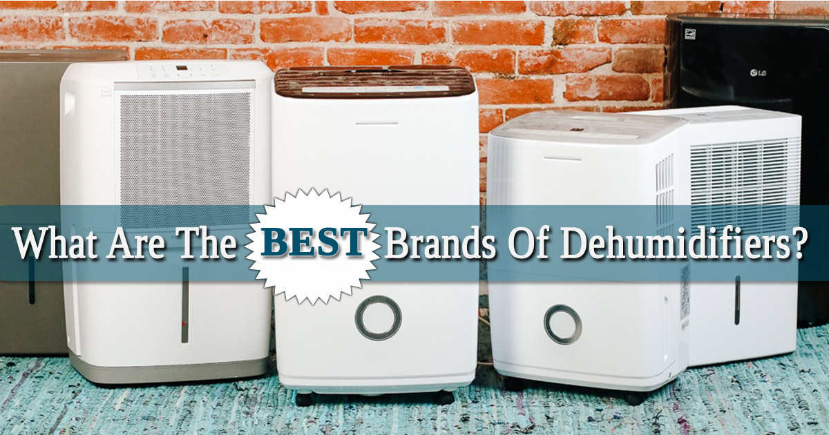 What are the Best Brands of Dehumidifiers image